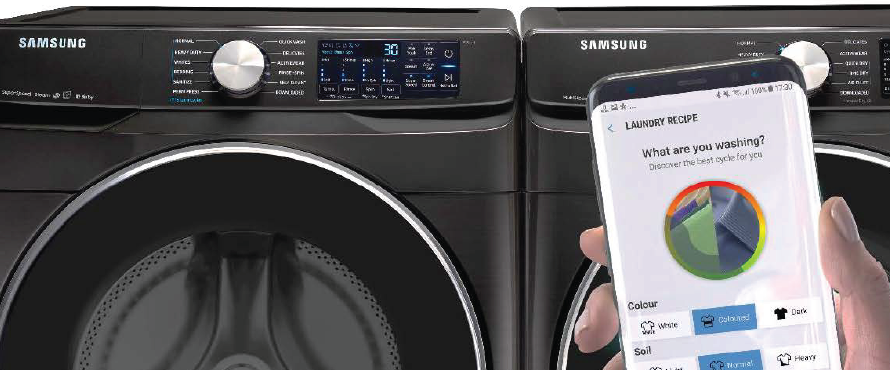 Newest Laundry Pairs by Samsung