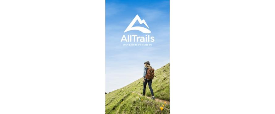 Exploring with AllTrails App