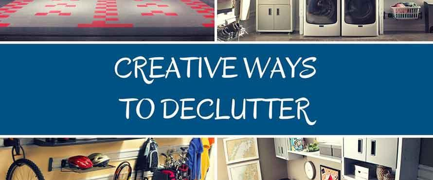 Creative Ways to Declutter