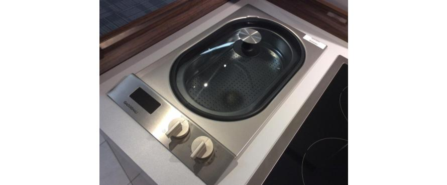 Steam Cooking Space-Saving Solution