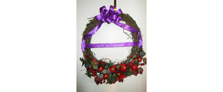 Remembrance Day DIY Wreath
