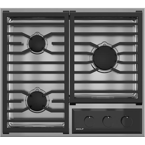 Wolf 24 inch Gas Cooktop - Clearance - Trail Appliances