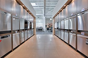 trail appliances' dishwashers