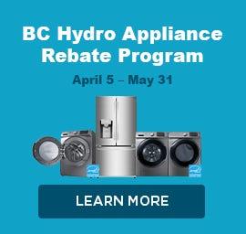 BC Hydro Rebates