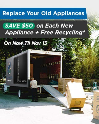 Replace Your Appliances