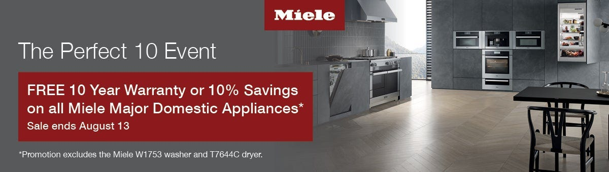 Miele Summer Sales Event