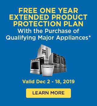 FREE One Year Extended Product Protection Plan