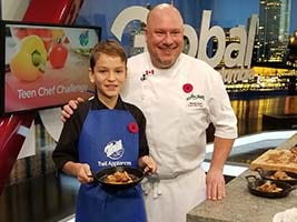 Trail Appliances Teen Chef Competition on Global TV